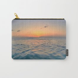 Sunset Ocean Carry-All Pouch