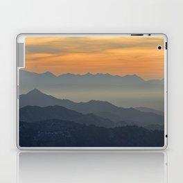 Sunset at the mountains Laptop & iPad Skin