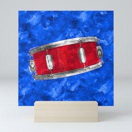 Percussion Studio - Red Snare Mini Art Print