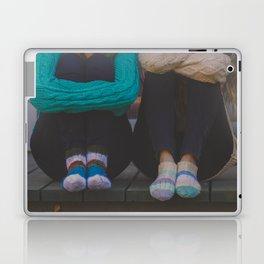 wool socks. Laptop & iPad Skin