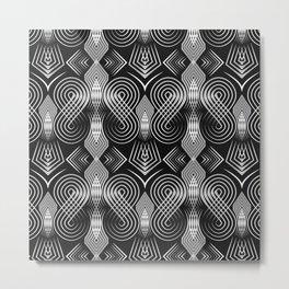 Art Deco. Diva 27 . Metal Print