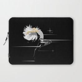 White Hair Girl Laptop Sleeve