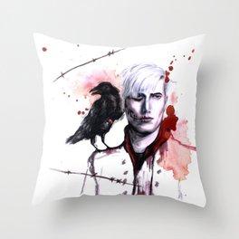 erchomai Throw Pillow