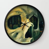 oil Wall Clocks featuring Civilizations Oil Painting by Thubakabra