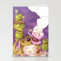 neverland Stationery Cards featuring Neverland by Eunice Ng