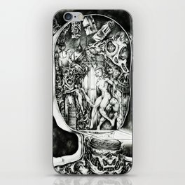 Concentric Sub-Levels Of Reality iPhone Skin