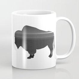 Buffalo print, Black & White Coffee Mug