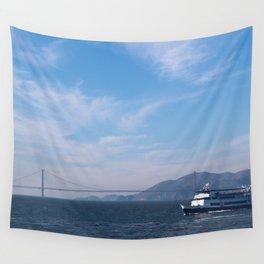Trip to Alcatraz Wall Tapestry