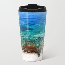 deep blue sea photography  Travel Mug