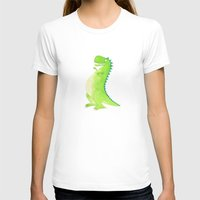 t rex T-shirts featuring T-rex by Alison Sadler's Illustrations