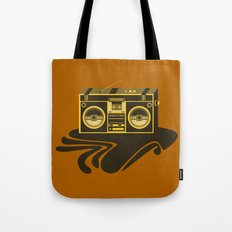 Radio Head Tote Bag