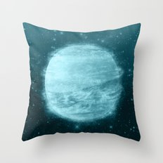Ice Planet Throw Pillow