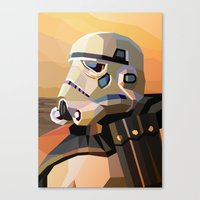sand Canvas Prints featuring Sand by Liam Brazier