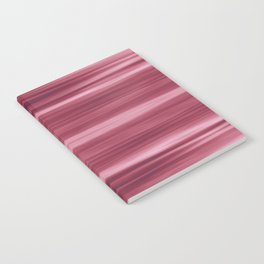 Abstraction Serenity in Rose Notebook