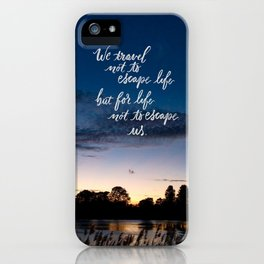 Traveling (phone cases) iPhone Case