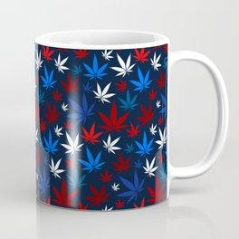 American Weed Pattern Coffee Mug