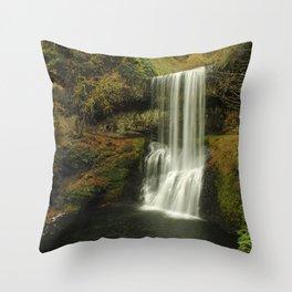 Trail of Ten Falls Throw Pillow