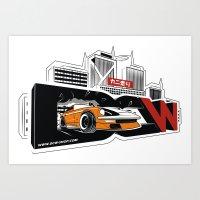 The Master Z - Datsun 280z by DCW classic Art Print
