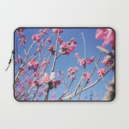 Blue Blossoms 03 Laptop Sleeve
