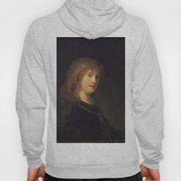 Rembrandt - Saskia van Uylenburgh, the Wife of the Artist (1638) Hoody