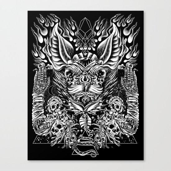 Haunter of the Dark Canvas Print