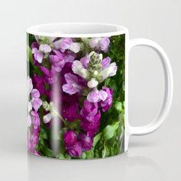 Purple Snap Dragons Coffee Mug