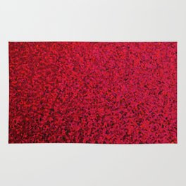RED SEQUNS. Rug