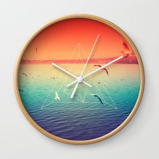 Lapse In Perception Wall Clock