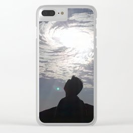Oh Beautiful You Clear iPhone Case