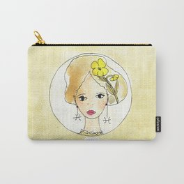 Rock Rose - Fish- Zodiac sign Carry-All Pouch