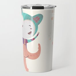 Dance Dreams (Cream) Travel Mug