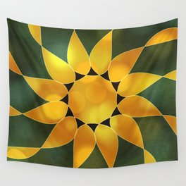 Autumn Sun Two Wall Tapestry