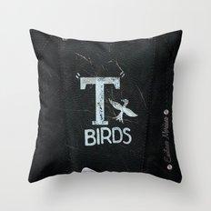T-birds Team  Throw Pillow
