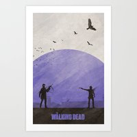 TWD (Season 4) Art Print