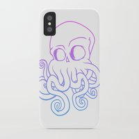 cthulu iPhone & iPod Cases featuring Call me Cthulu  by KickPunch