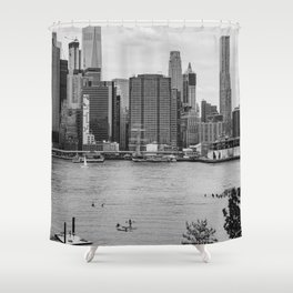Summer on the Water Shower Curtain
