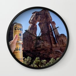 Druid Staff Wall Clock