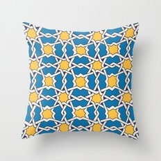 Morocco ornament Throw Pillow
