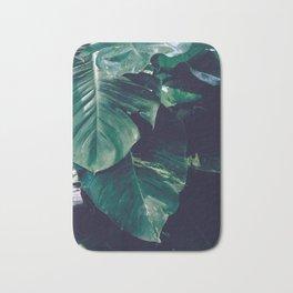 Green Leaves - Bali - Travel Photography Bath Mat