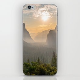Morning Yosemite Landscape iPhone Skin