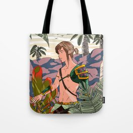 Spring of Courage Tote Bag