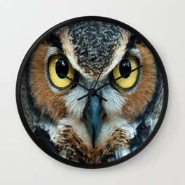 aztec owl  , aztec owl  games, aztec owl  blanket, aztec owl  duvet cover,  Wall Clock