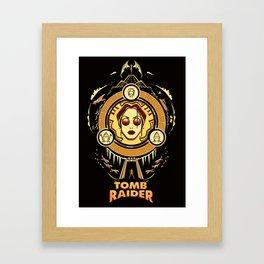 Tomb Raider I - Wheel of Adventure Framed Art Print