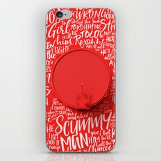 Lyrics & Type - ArcticMonkeys iPhone Skin