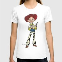 toy story T-shirts featuring Toy Story | Jessie by Brave Tiger Designs