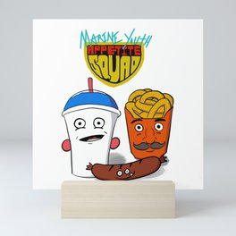 Marine Youth Appetite Squad Mini Art Print