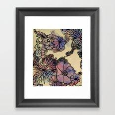Retro Abstraction Framed Art Print