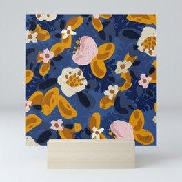 Bouncy Florals No. 2 Mini Art Print