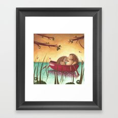 A life together Framed Art Print