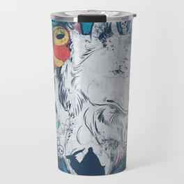 The princess and the wolf Travel Mug